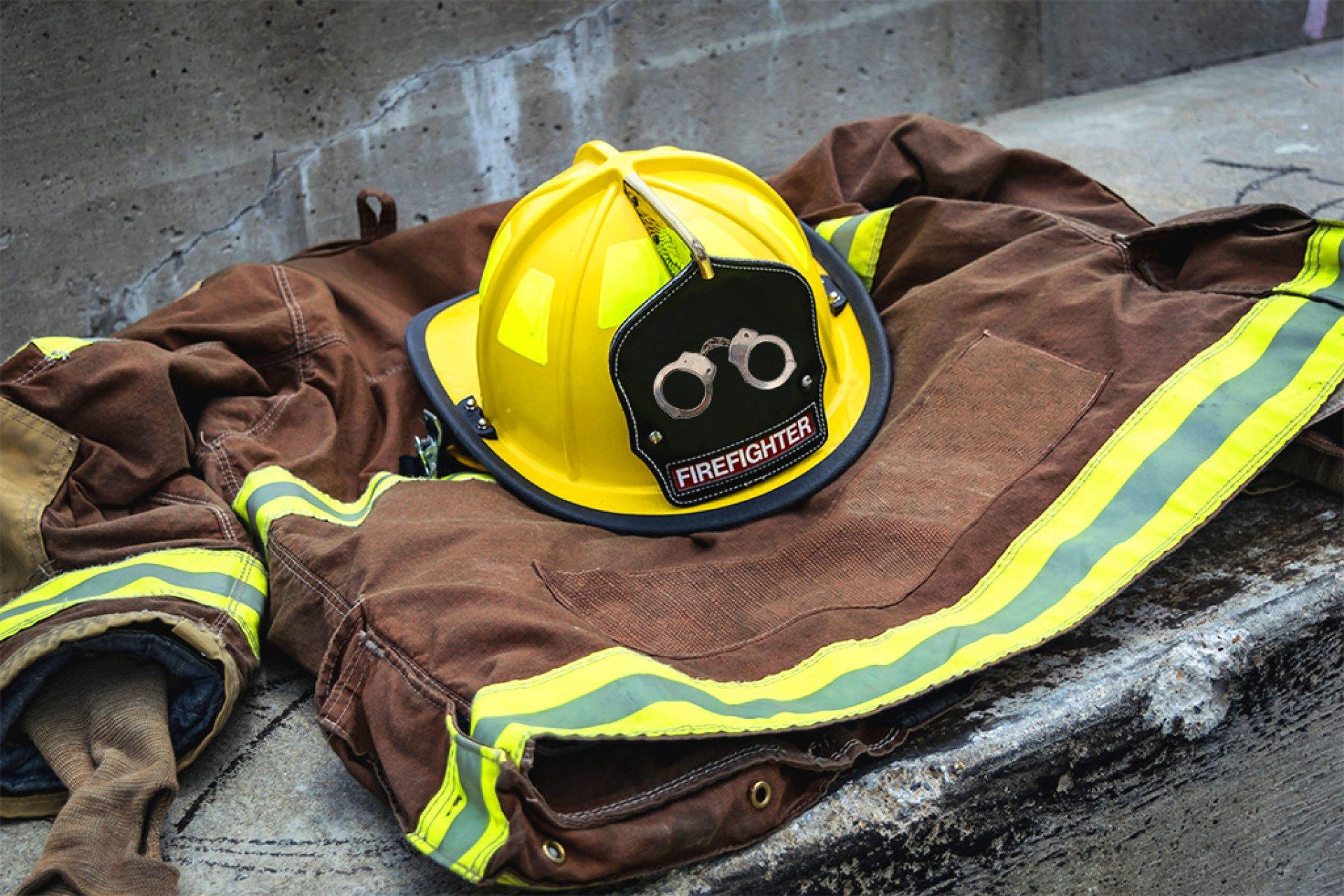 Humboldt County prison inmates battling California's fires make $1 an hour. | Photo Illustration by Megan Bender