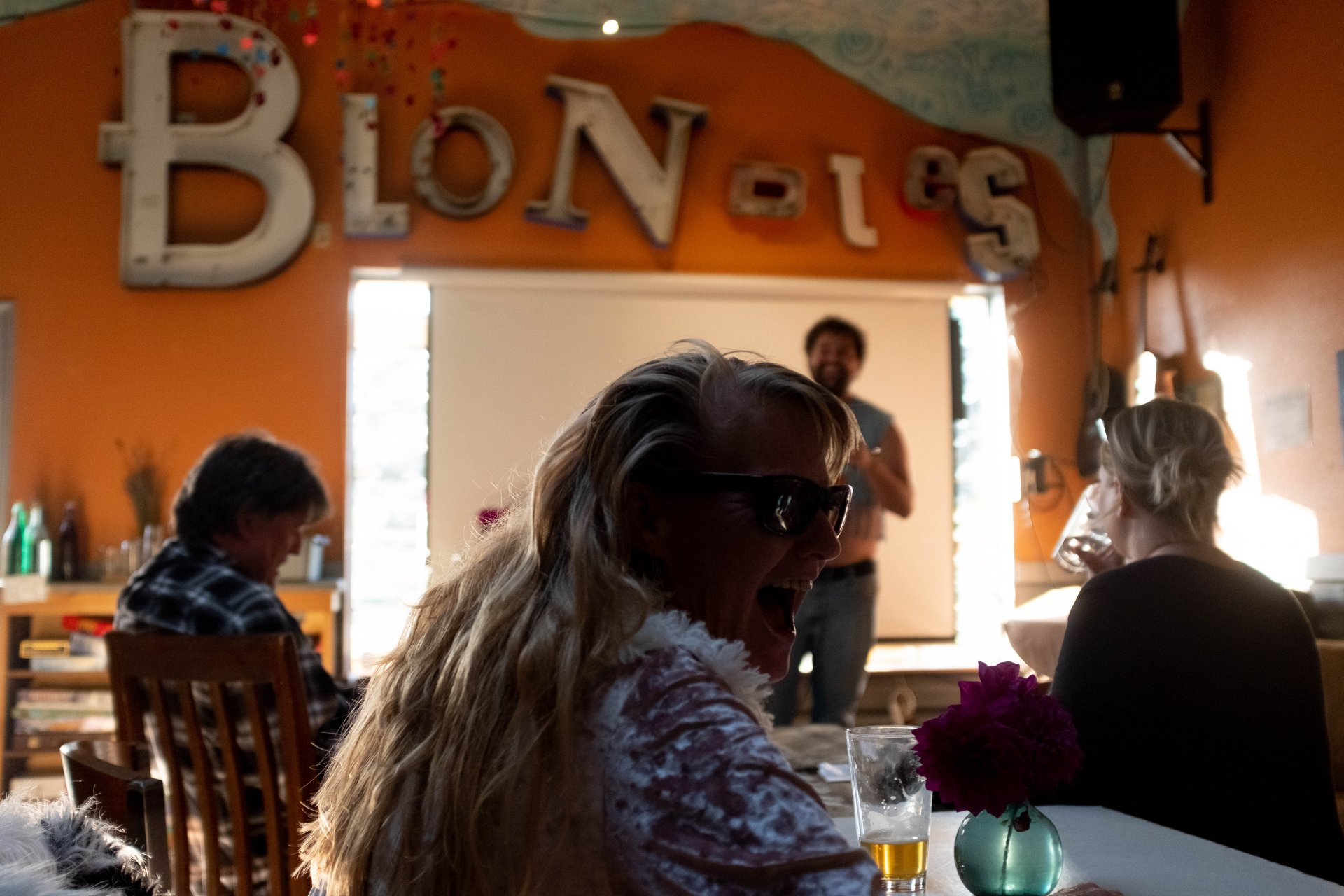 Audience members enjoy the Savage Henry 8th Annual Comedy Fest on Oct. 11 at Blondies in Arcata. | Photo Michael Weber