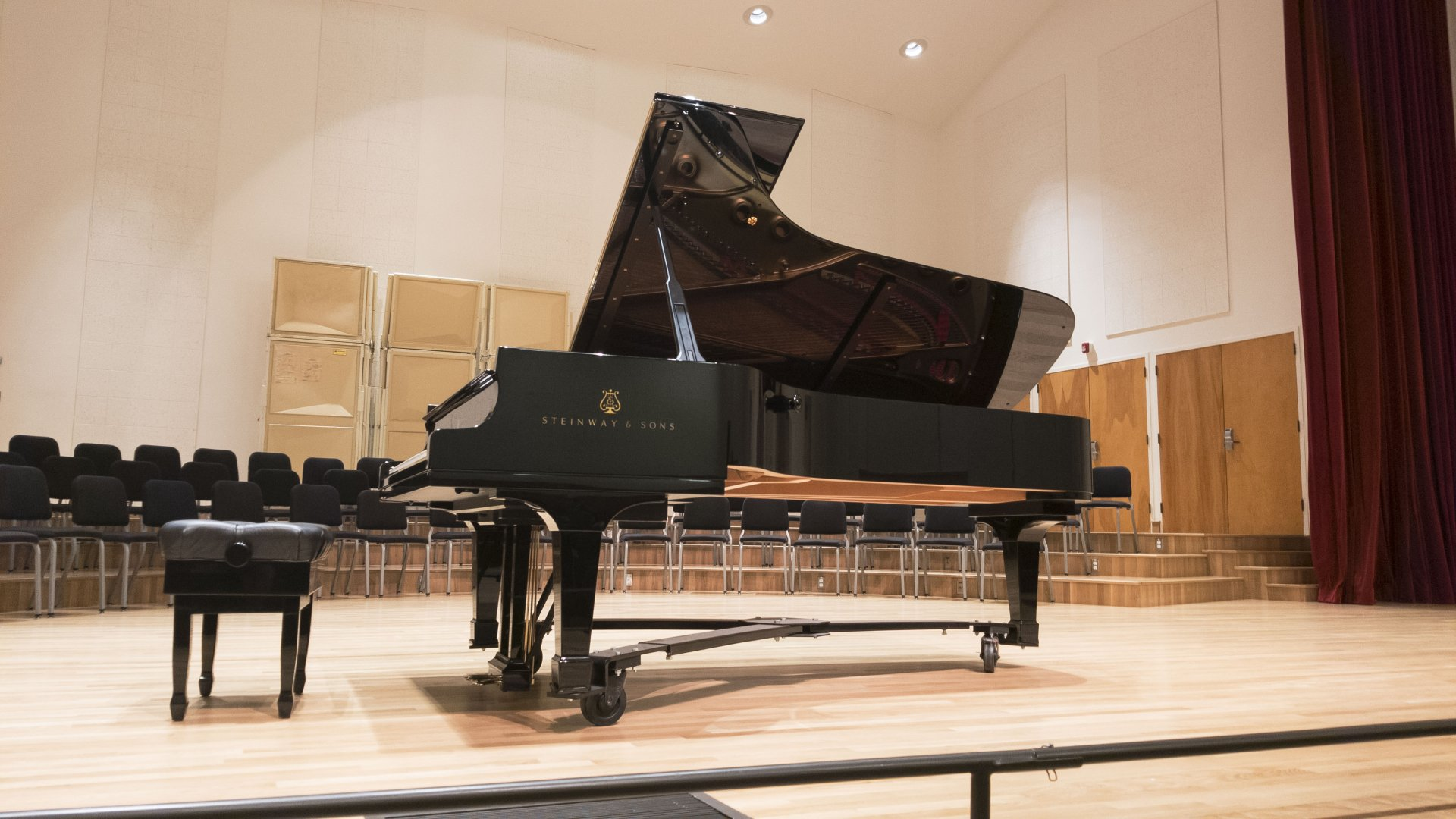 Five time Grammy nominated pianist Ursula Opens performed in Fulkerson Hall on Humboldt State's campus Sept. 28. | Photo by Luis Lopez