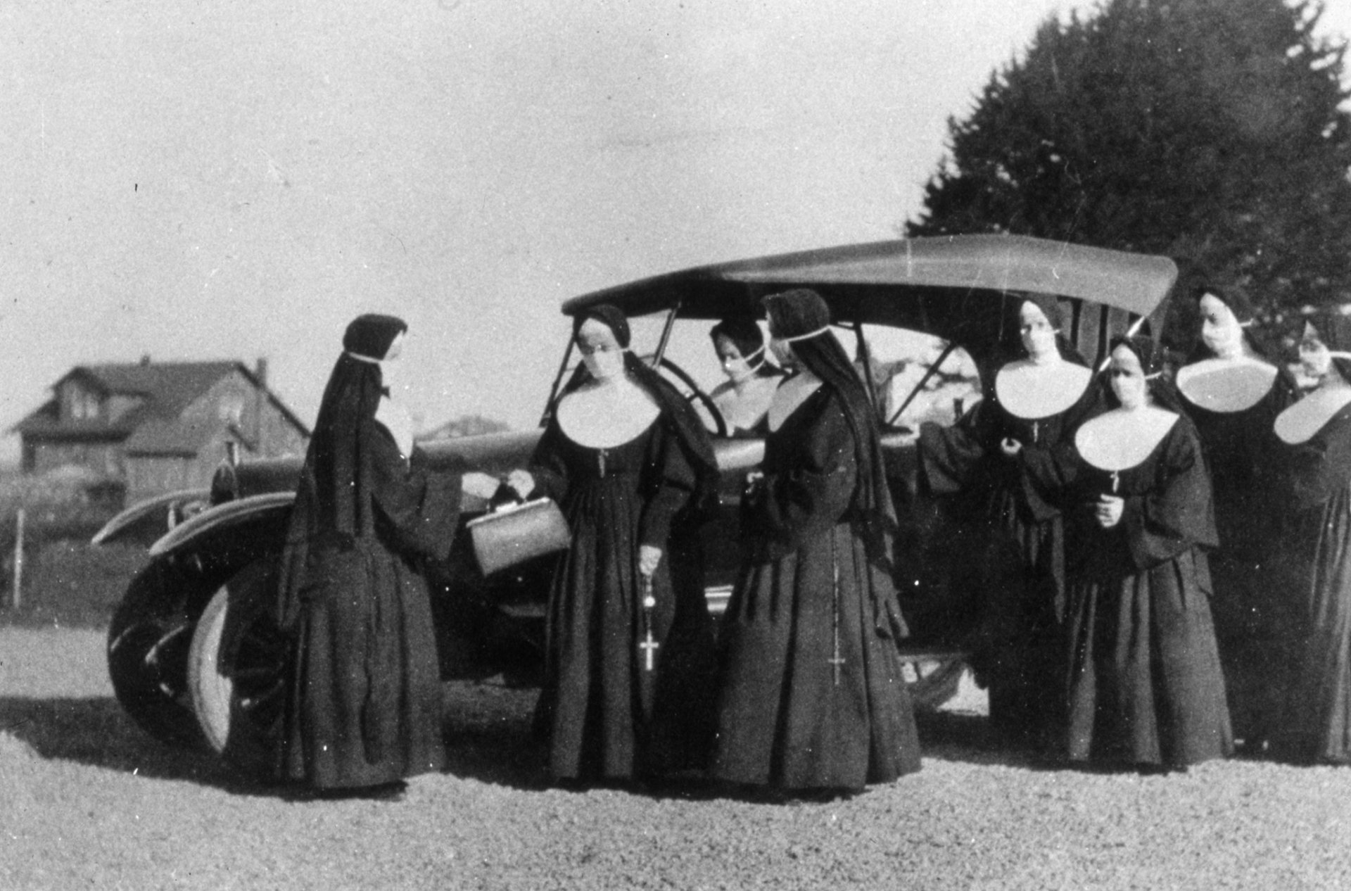 The Sisters of St. Joseph helped fight the Spanish flu in Humboldt County from 1918-1920. | Photo courtesy of St. Joseph Health