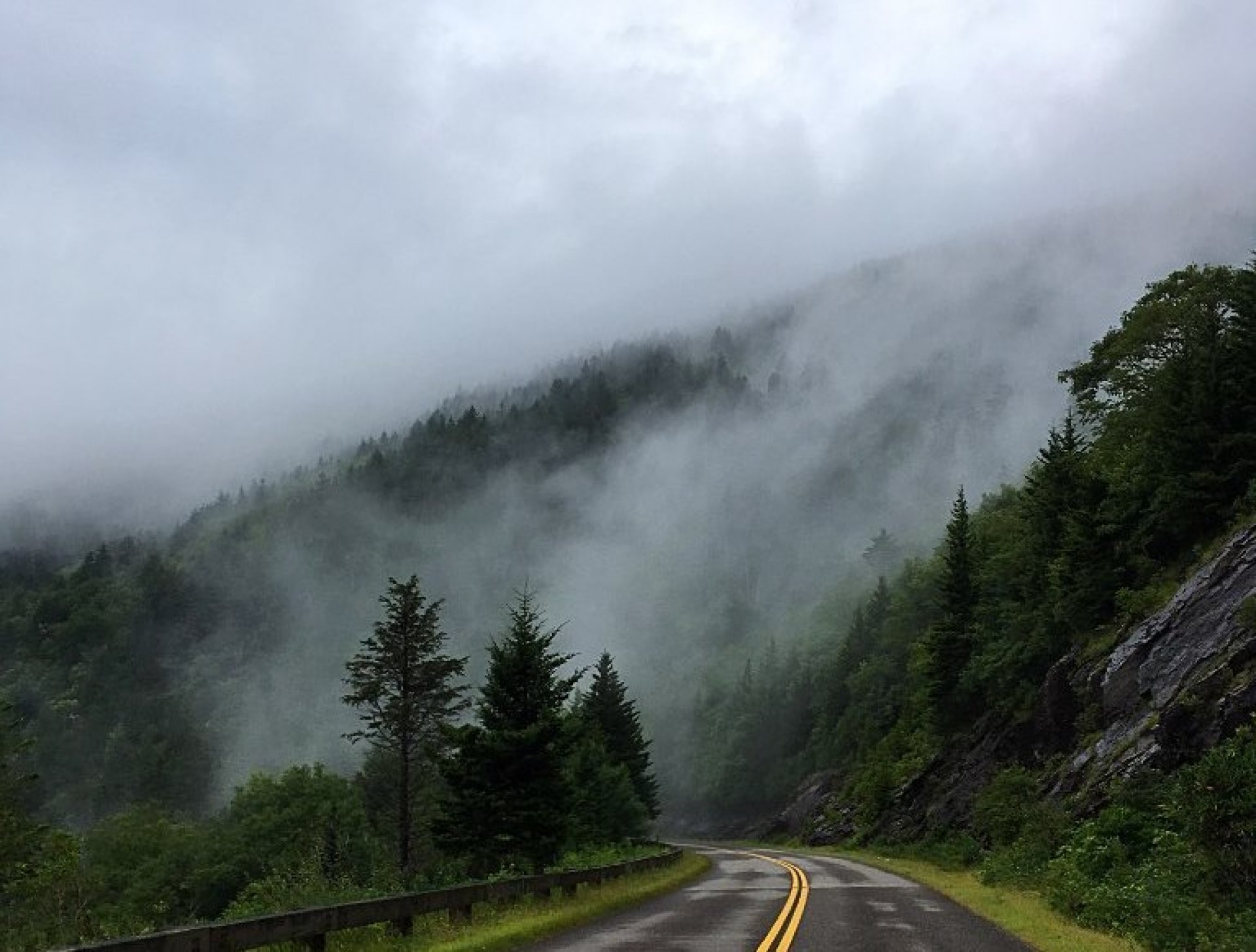 Cloudy day. | Photo courtesy National Parks Service