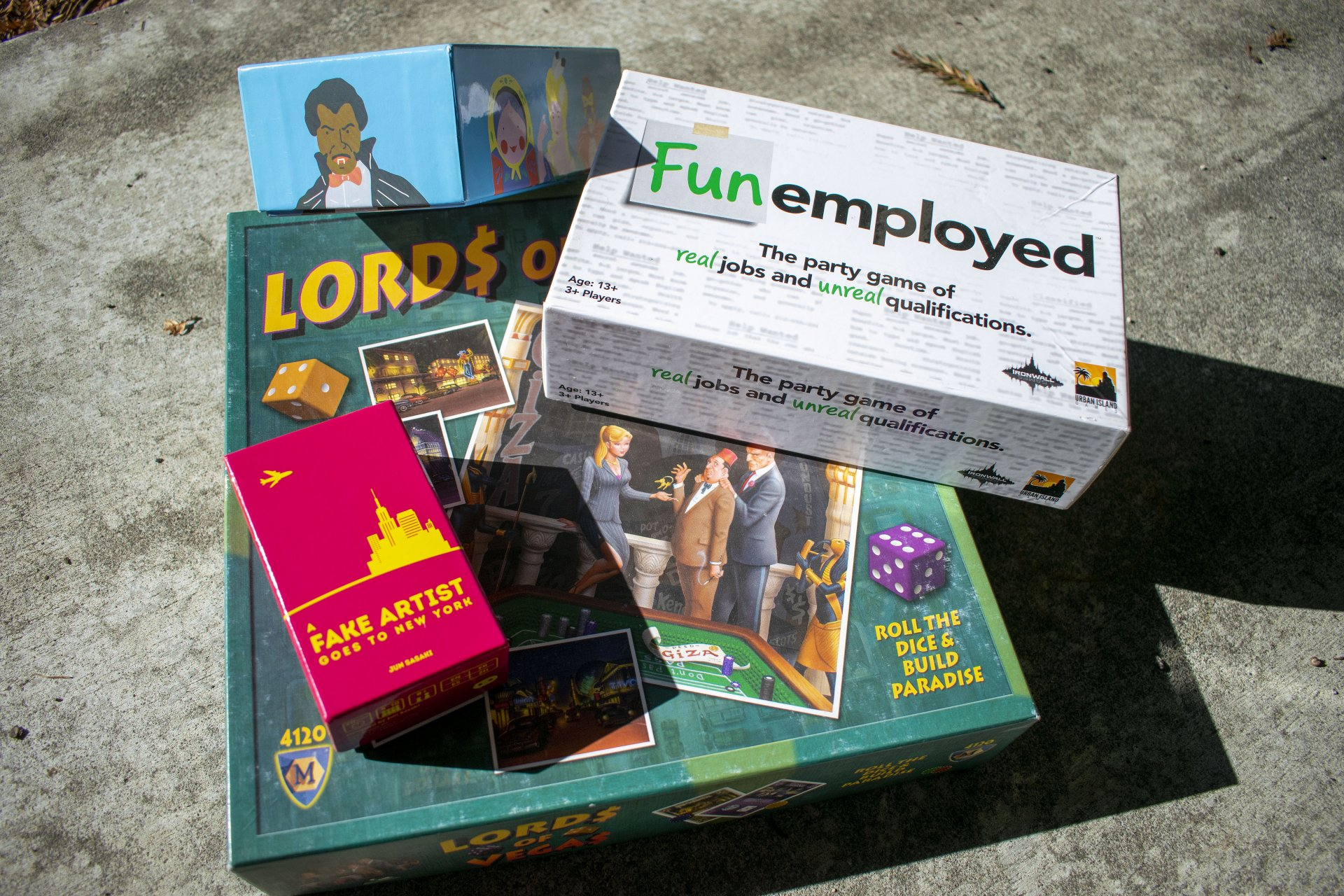 Looking for new boardgames to add to the mix? Try these. | Photo by James Wilde