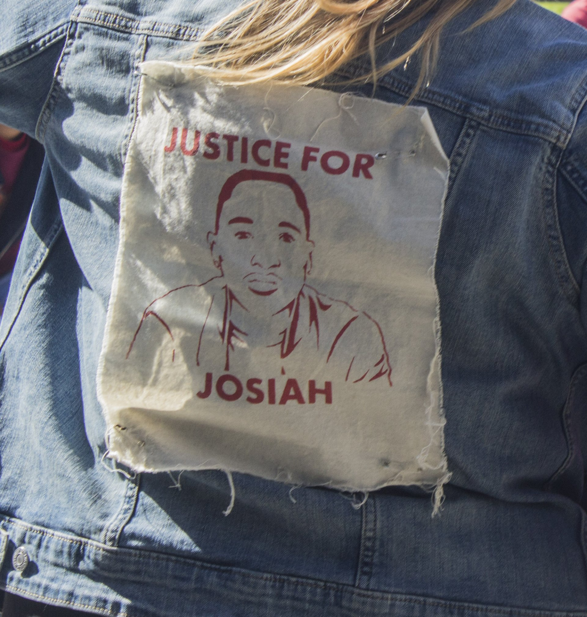 Over a dozen Justice For Josiah committee members attended the Arcata City Council meeting on Wednesday March 20 2019 to urge them to seek the help of the D.O.J in Lawson's case. | Photo by  T.William Wallin