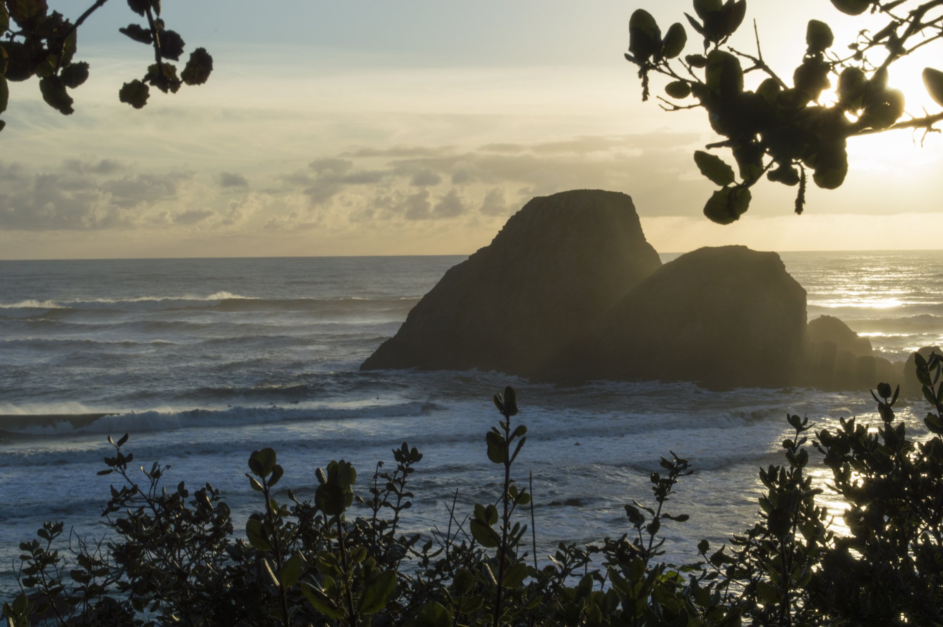 Camel Rock at Moonstone Beach. | Tyler Boydstun