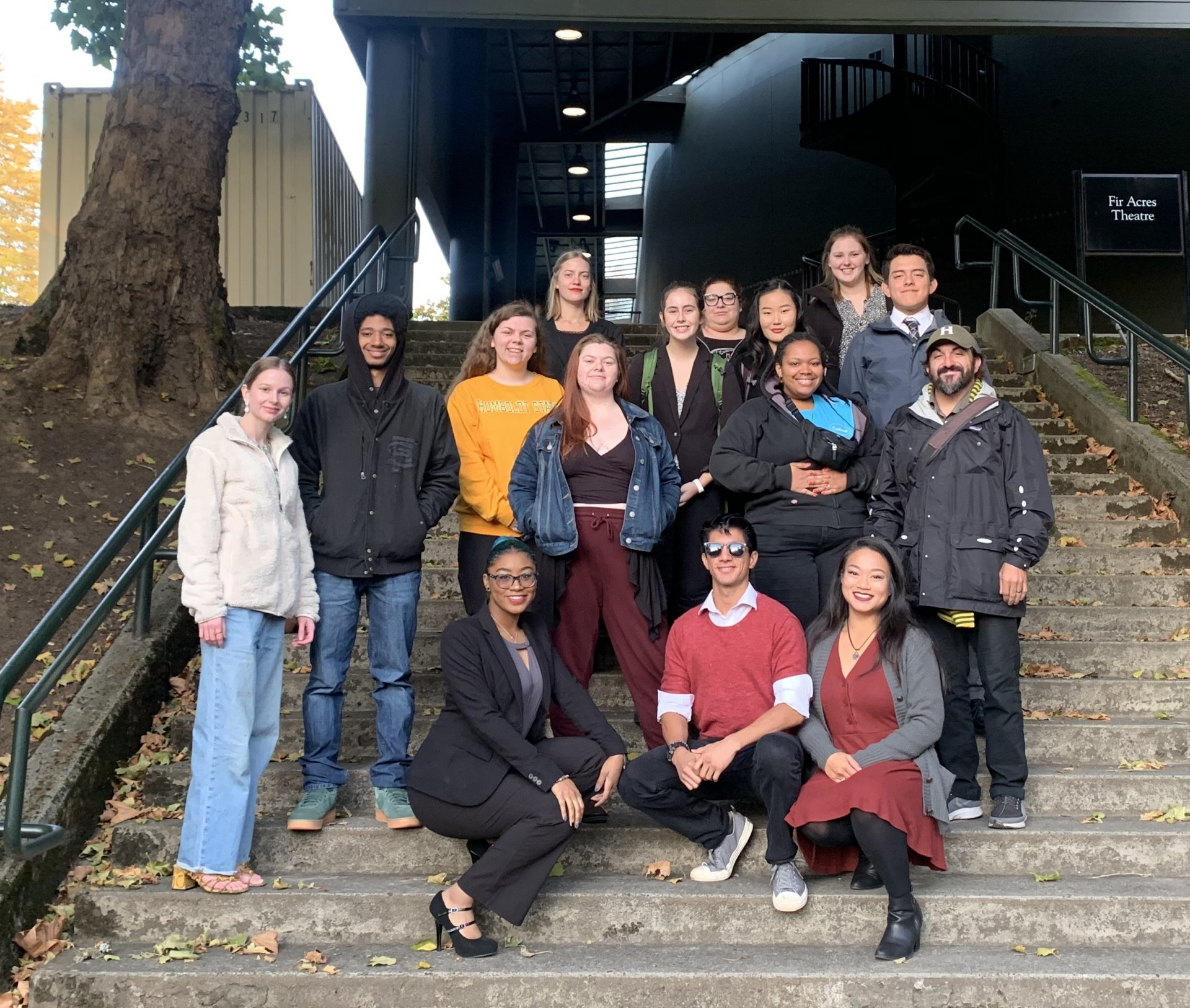 The fall 2019 HSU Debate Team. | Photo courtesy of Humboldt State Debate Team.