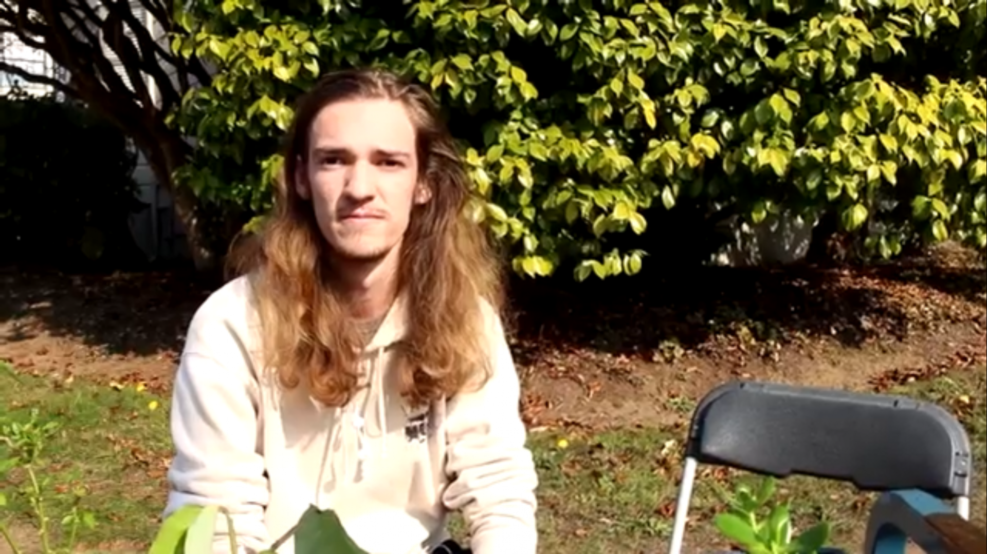HSU students talk about what they're doing for the Thanksgiving Break. | Screenshot from video