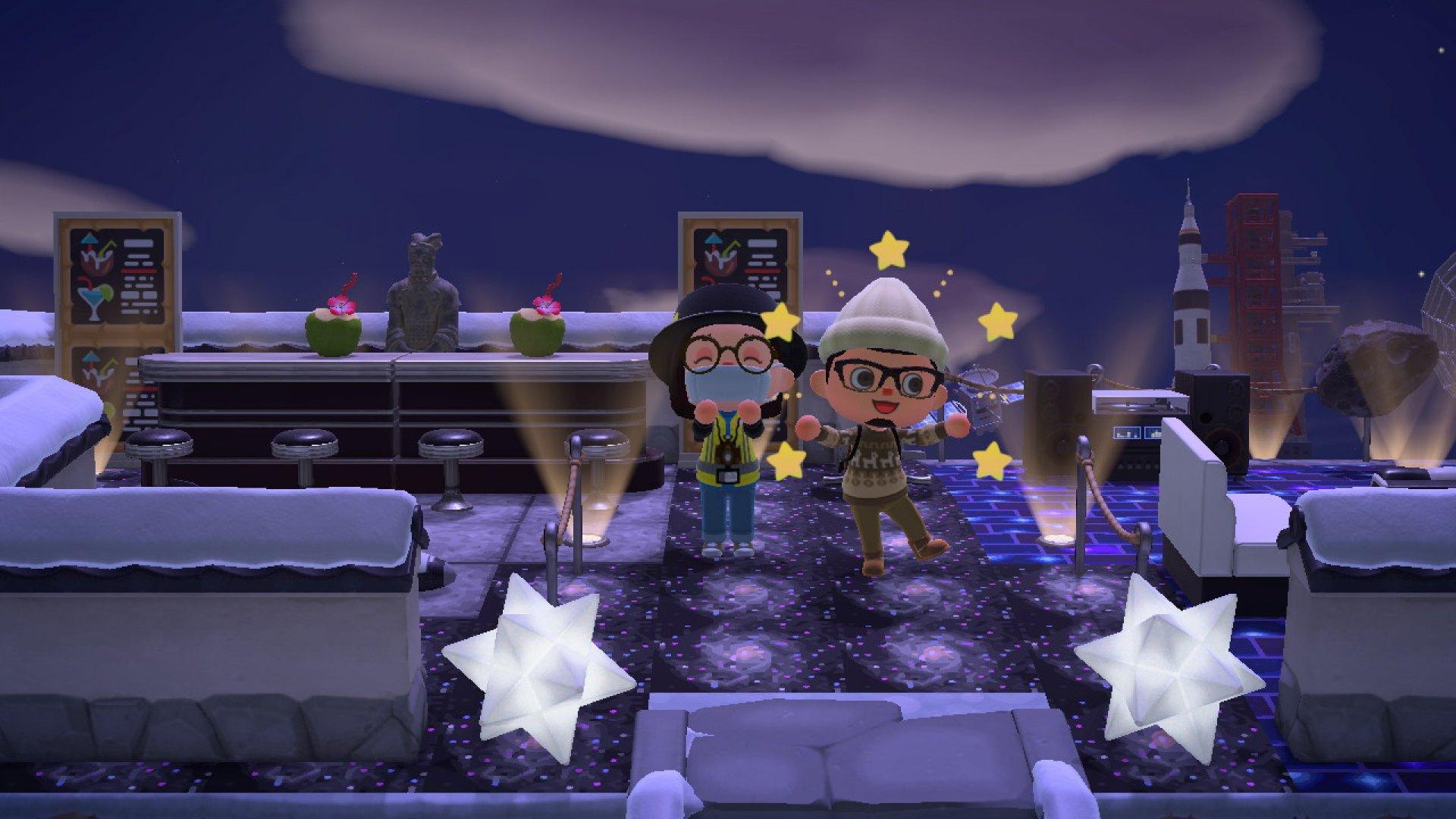 Becca Laurenson vists Chris Lee's Animal Crossing New Horizons island on Feb. 11. | Screenshot by Becca Laurenson