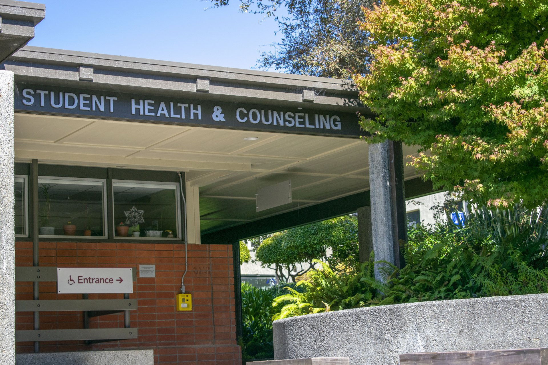 The Humboldt State University Student Health and Counseling Center on Oct. 5. Since 2016, HSU's Counseling and Psychological Services has increased its use of data to better meet student needs. | Photo by James Wilde