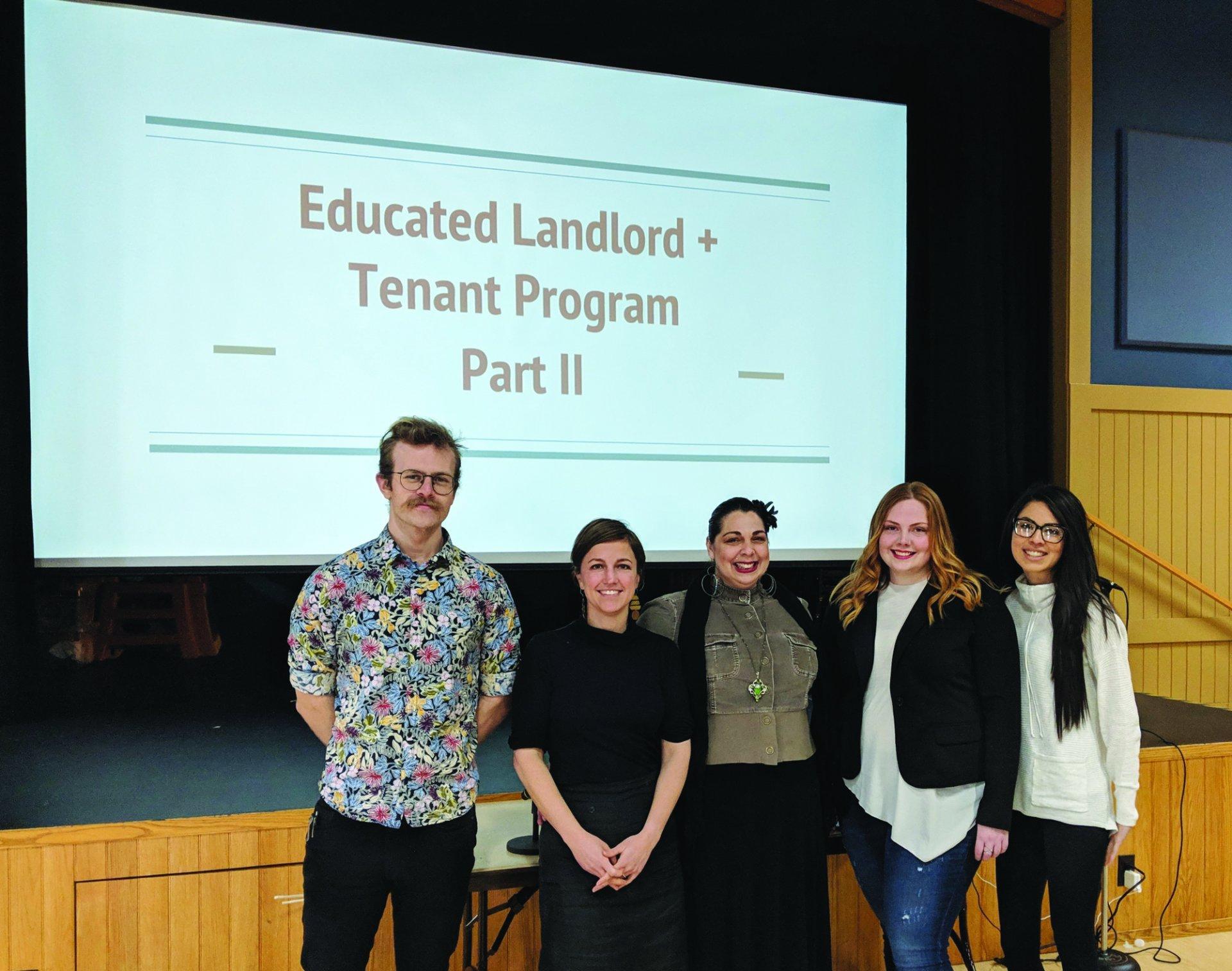 The team that built ELTP. From left: Jesse Richards, Sonya Woody, Chant'e Catt, Katelyn Harris and Ashley Bradshaw. | Photo by Jett Williams
