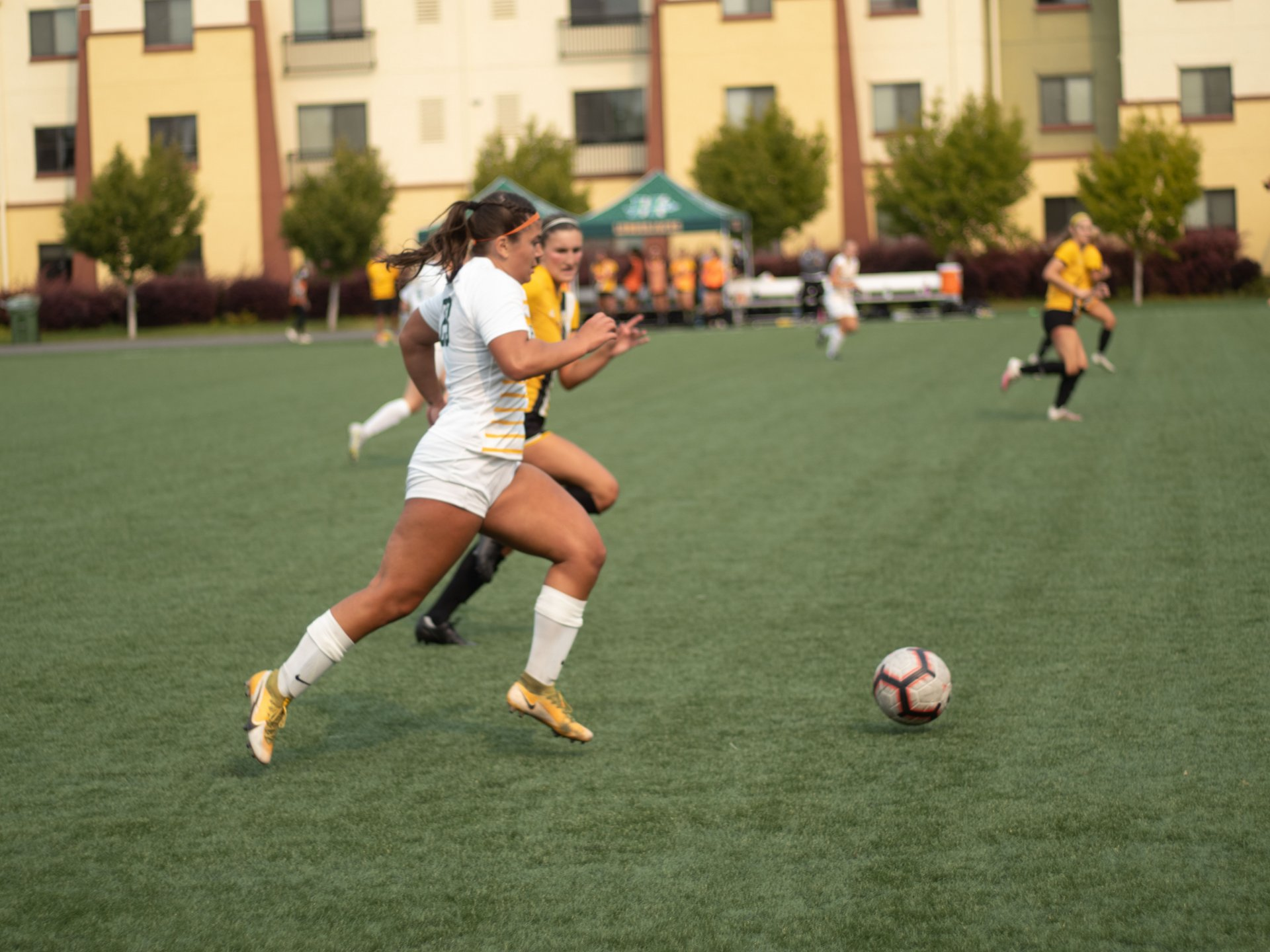 Humboldt State Women's Soccer plays Dominican University Friday September 3rd.
