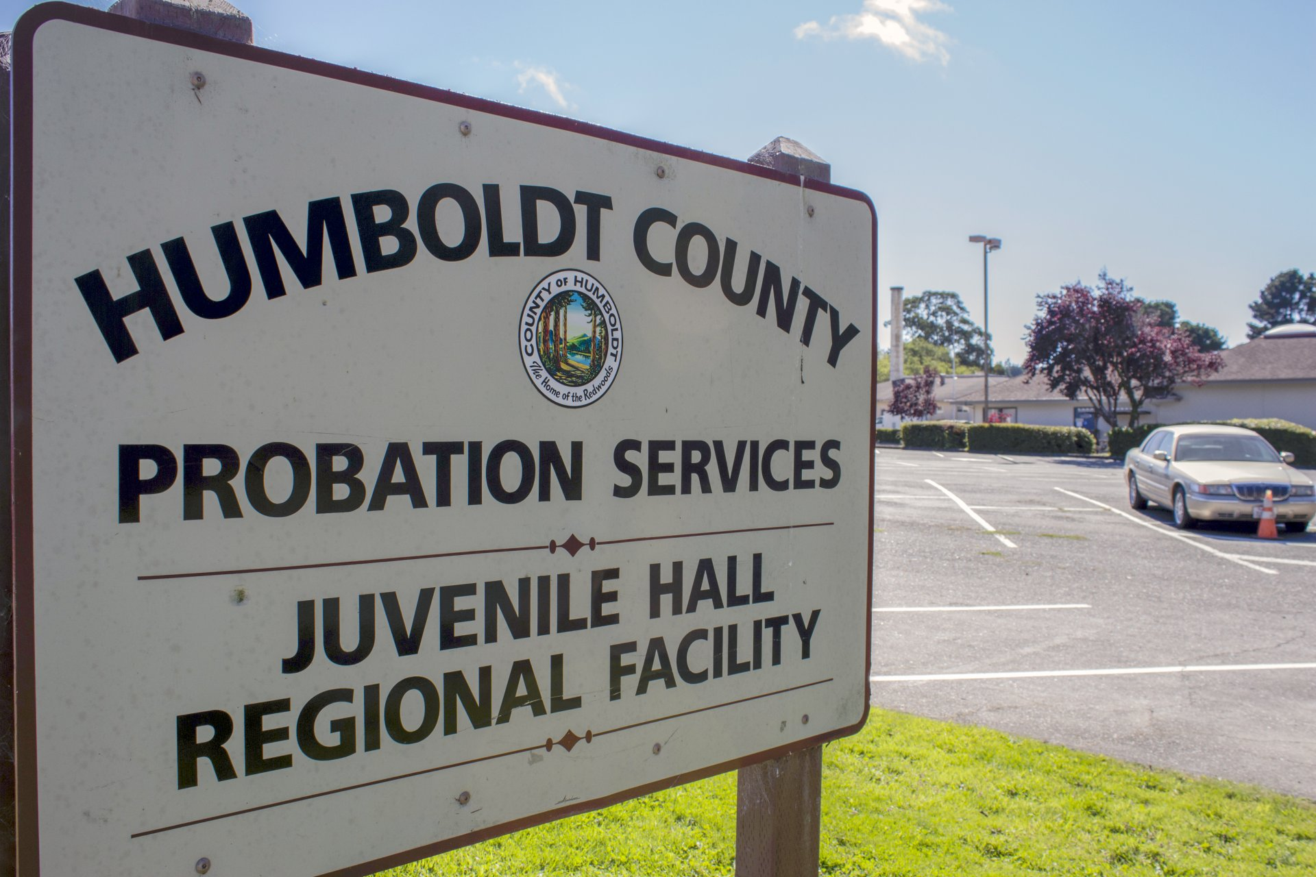 Photo by Tony Wallins   Humboldt County Probation services in Eureka, Calif. The only available resource for formerly incarcerated HSU students is the probation dept.