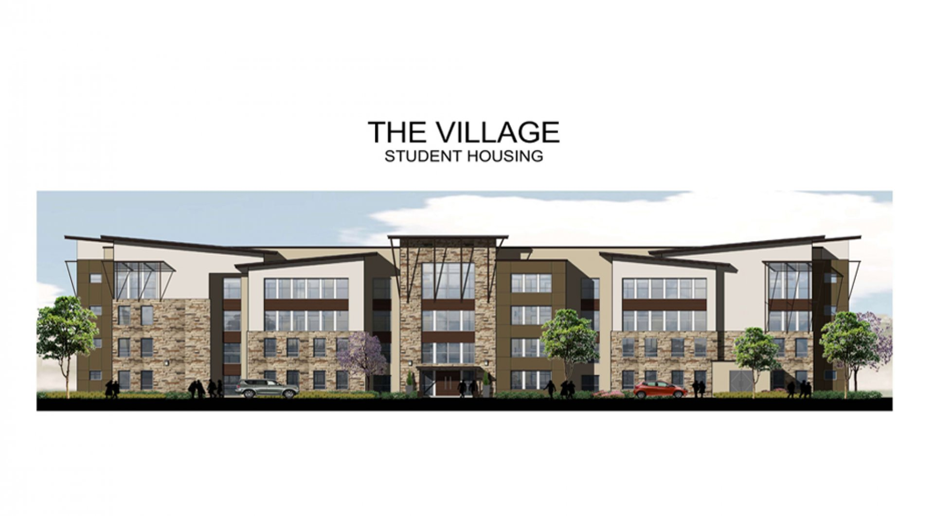 Future AMCAL rendering of the proposed project, The Village, will get another chance at making Arcata home.