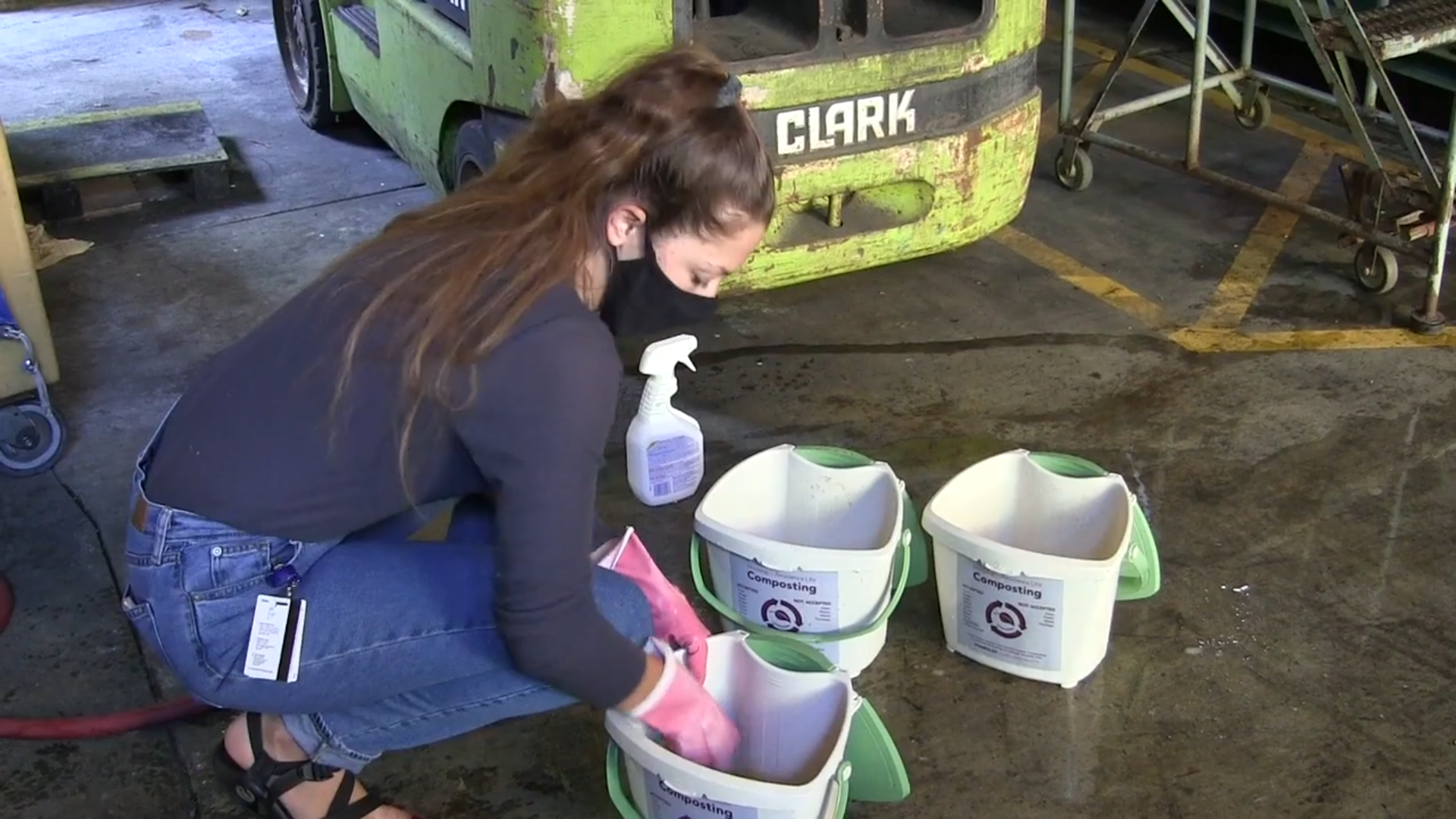 Students at HSU are working to find a solution to the food waste on campus. Kimberly Cossio reports.