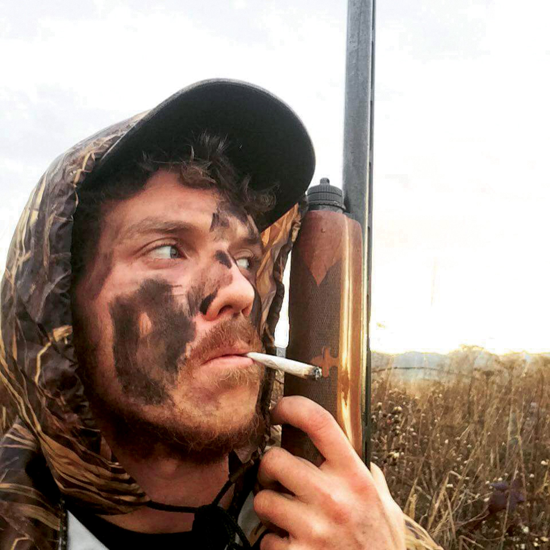 Humboldt resident and registered gun owner Liam Doherty in the midst of a hunting excursion. Photo courtesy of Liam Doherty.