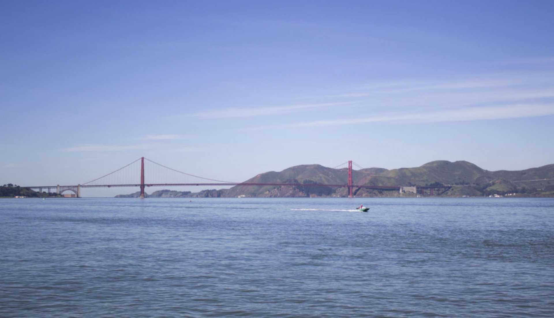 The Golden Gate Bridge and the San Francisco Bay in San Francisco, California. The Golden Gate Bridge is one of the most well-known and popular sites to see in the United States. | Photo by Liam Olson