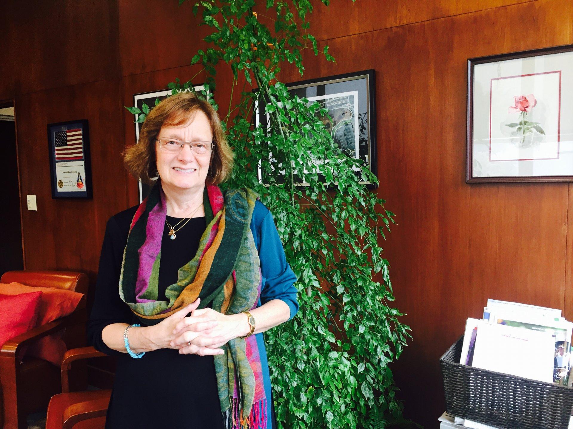 President Lisa Rossbacher
