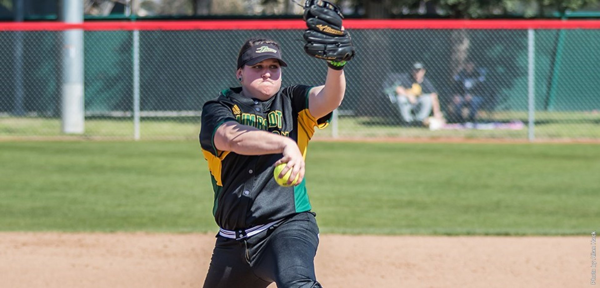 HSU Pitcher Madison Williams, threw a no-hitter Monday versus Cal State East Bay | HSU Website