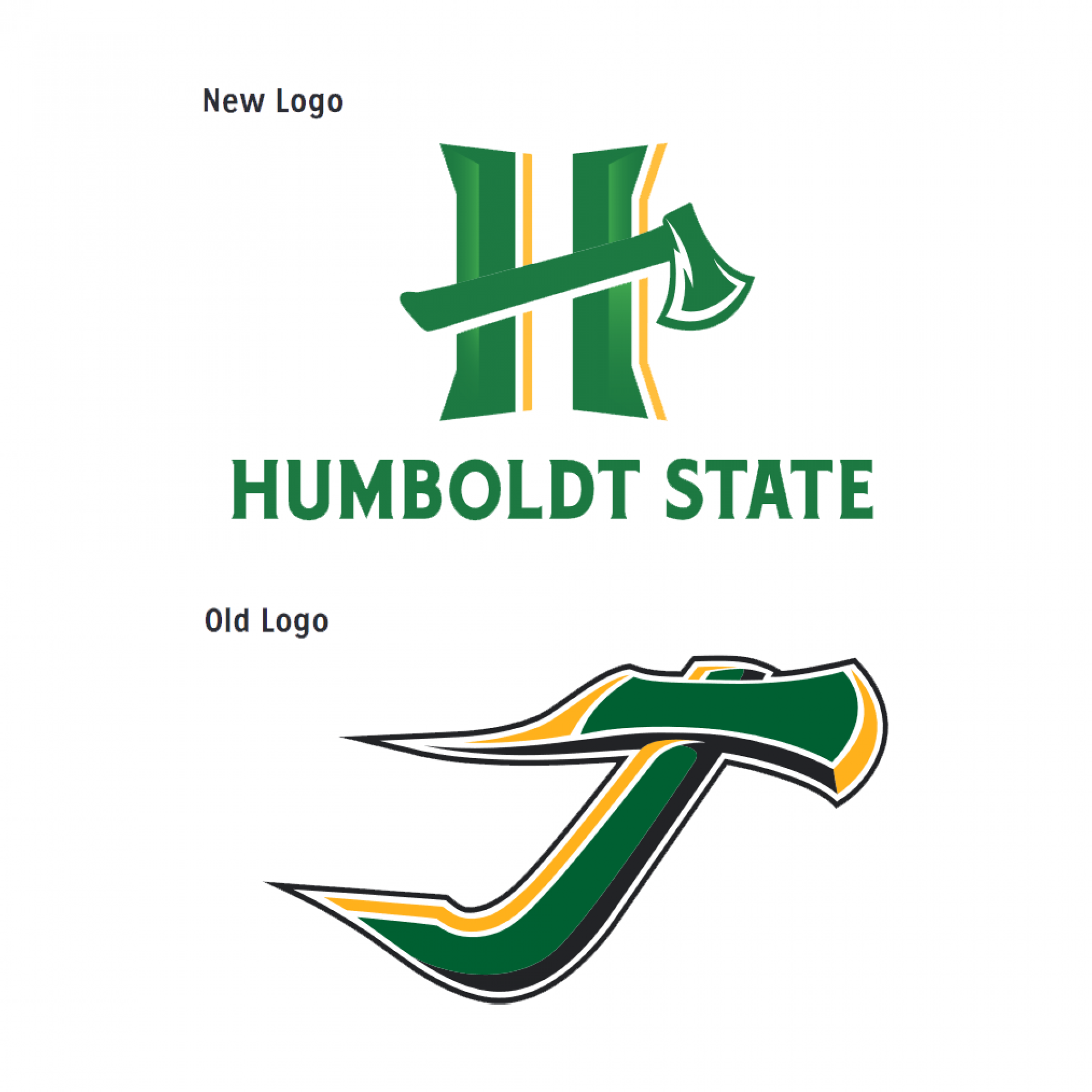 Logos courtesy of of Humboldt State