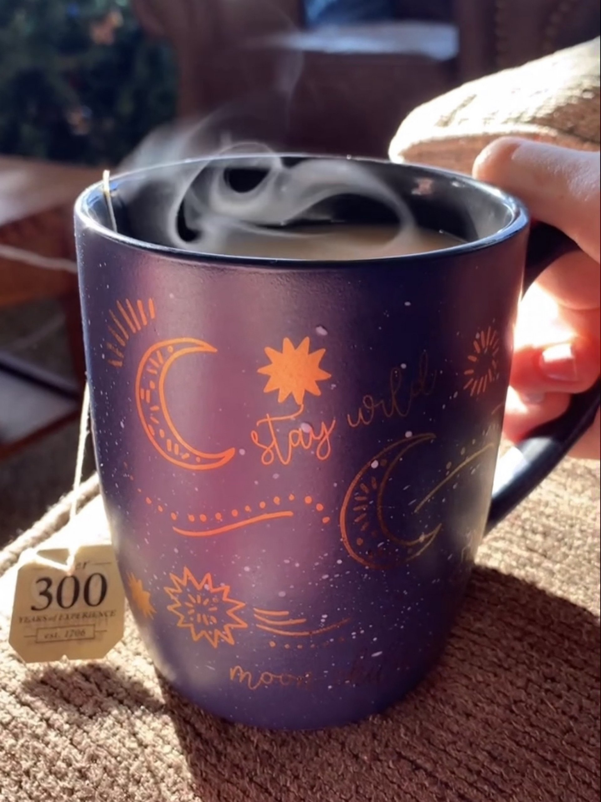 A warm cup of tea on a winter's day on Dec. 24, 2020 | Photo by  Elise Fero