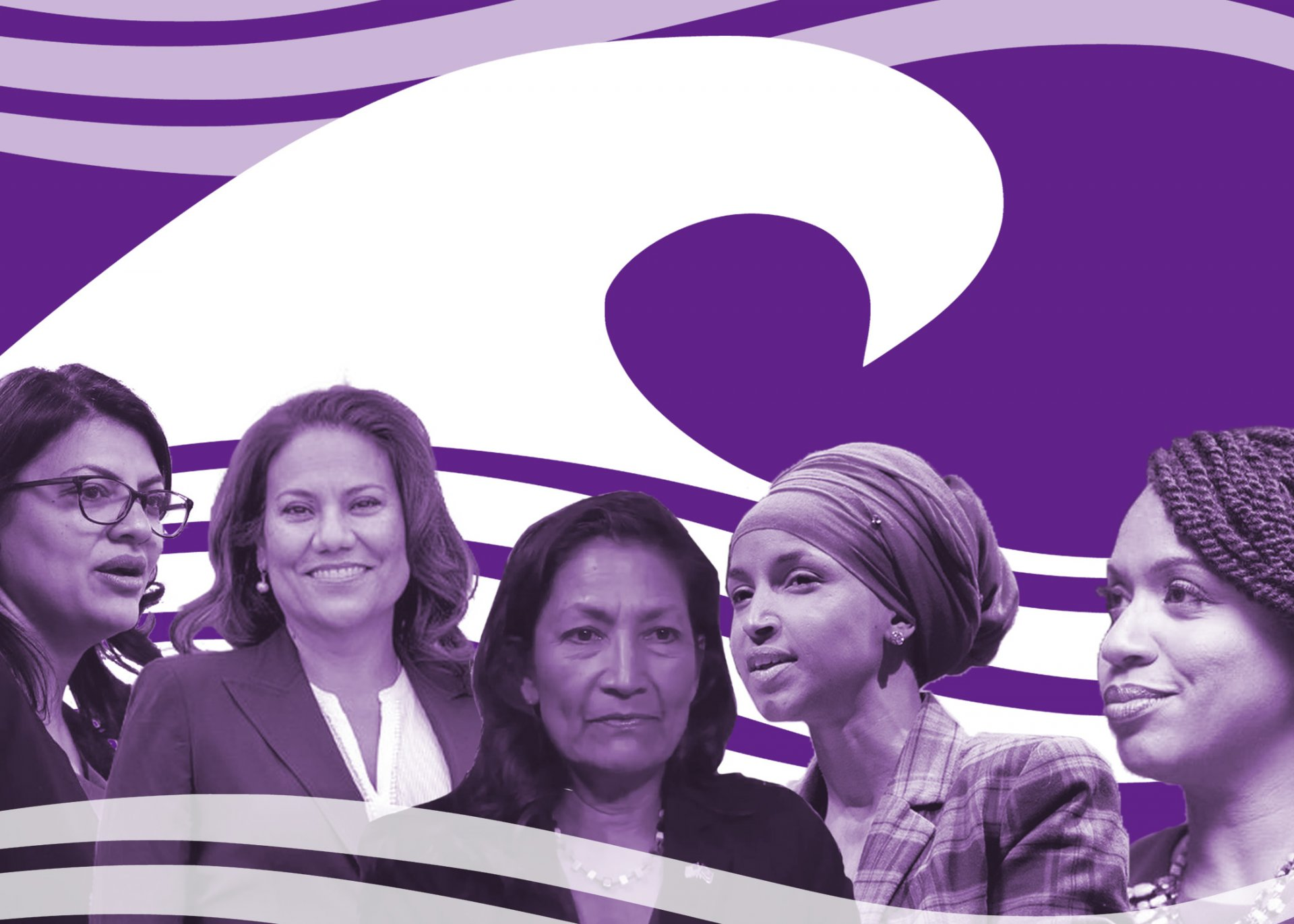Women in politics coming in waves. | Photo Illustration by Megan Bender
